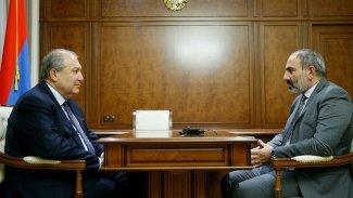 Ermenistan Cumhurbaşkanı'ndan Paşinyan'a ikinci veto