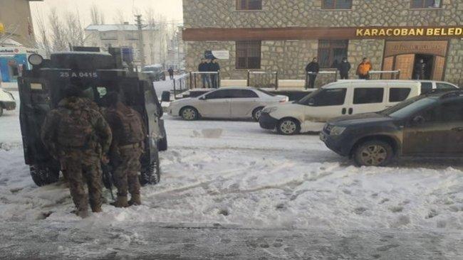 HDP'li Karaçoban Belediye Başkanı gözaltına alındı