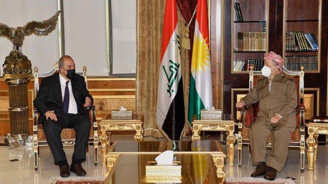 Başkan Barzani, Allavi ile görüştü