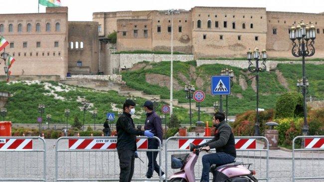 Erbil'e girişler durduruluyor