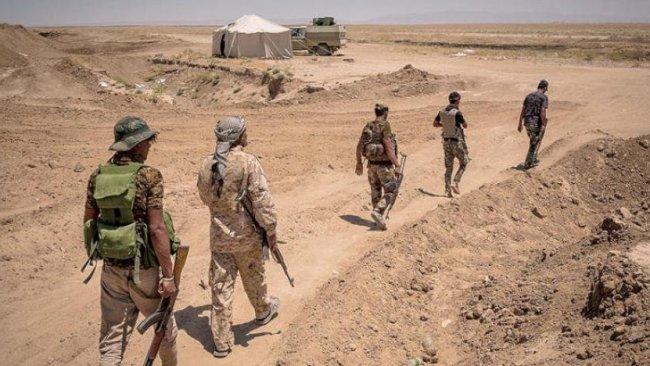 Haşdi Şabi'ye bağlı milis gruplar Suriye sınırından çekiliyor