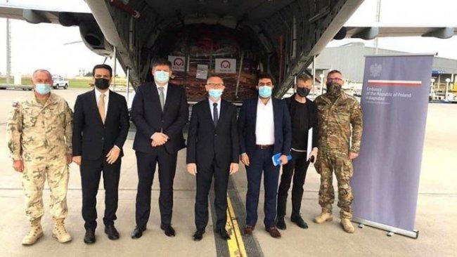 Polonya'dan Kürdistan Bölgesi'ne tıbbi yardım