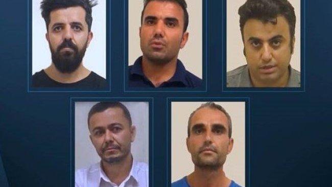 Behdinan'da yakalanan 5 kişiden itiraf