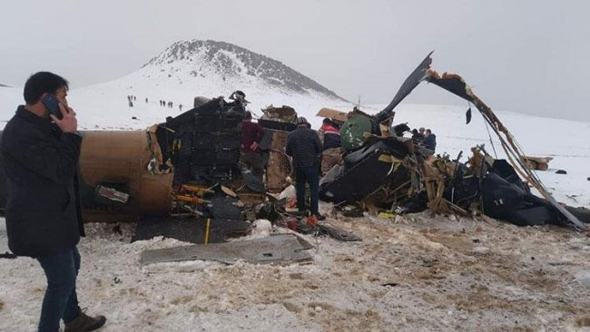 MSB'den Bitlis'teki helikopter kazasına ilişkin açıklama