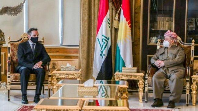 Macar Bakan'dan Başkan Barzani'ye: Omuz omuza savaştık...