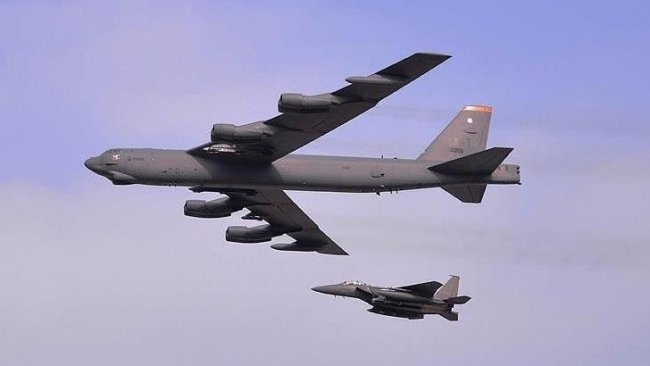 ABD bombardıman uçakları, Ortadoğu semalarında!