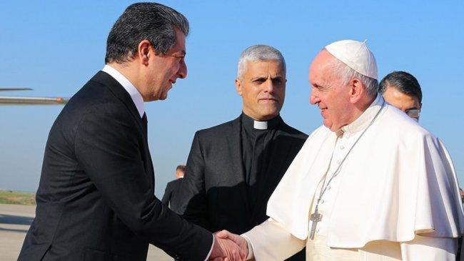 Başbakan Barzani: Papa'nın gelişi, Kürdistan Bölgesi için tarihi bir olaydır
