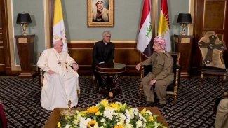 Papa'dan Başkan Barzani'ye: Kürdistan'ı unutmadım