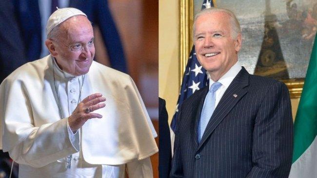 Biden: Papa'nın ziyareti tüm dünya için bir umut sembolüdür