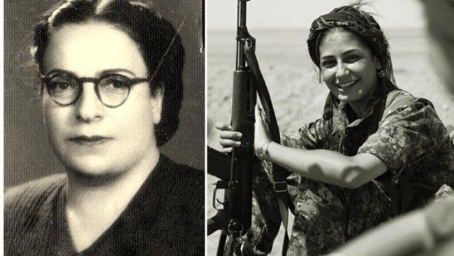Rojava kadın mücadelesi Rewşen Bedirxan ile başladı Kobani direnişi ile sembolleşti