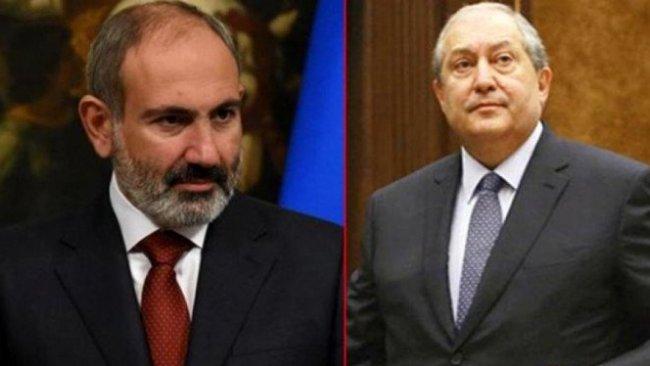 Ermenistan Cumhurbaşkanı Sarkisyan'dan Paşinyan'ın kararnamesine ret