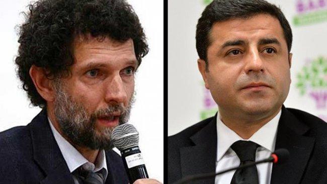 Avrupa Konseyi'nden Demirtaş ve Kavala kararı: 'Ankara'dan bilgi talep edilecek'