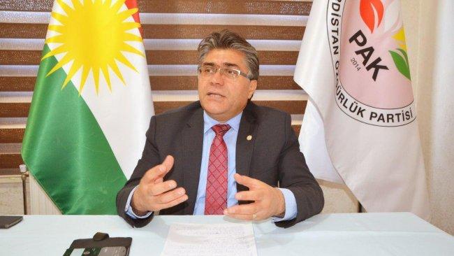 PAK Genel Başkanı Özçelik: Bu savaş Kürtlere zarar veriyor