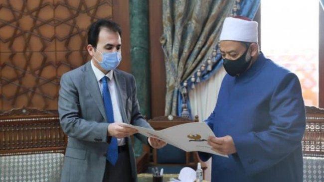 Başbakan Mesrur Barzani'den Ezher Şeyhi'ne Kürdistan daveti
