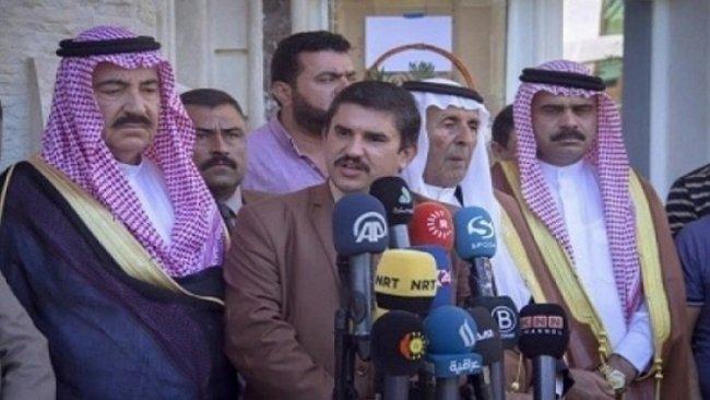 Arap Aşiretleri Sözcüsü'nden Haşdi Şabi Komutanına: 'Irak, Kürdistan sayesinde Baas faşizminden kurtuldu'