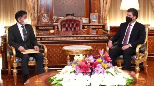 Neçirvan Barzani'den Japonya'ya teşekkür
