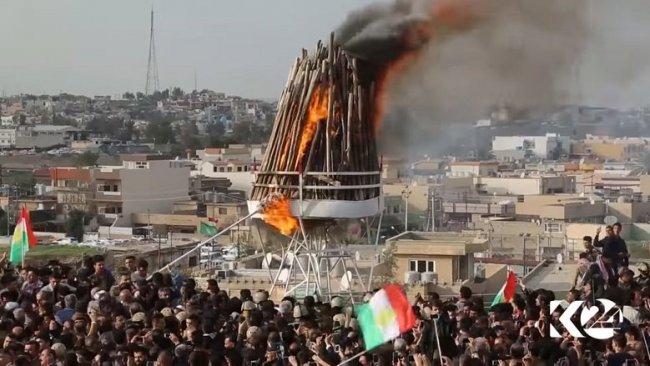 'Kerkük Valisi Newroz ateşinin yakılması talebini reddetti'