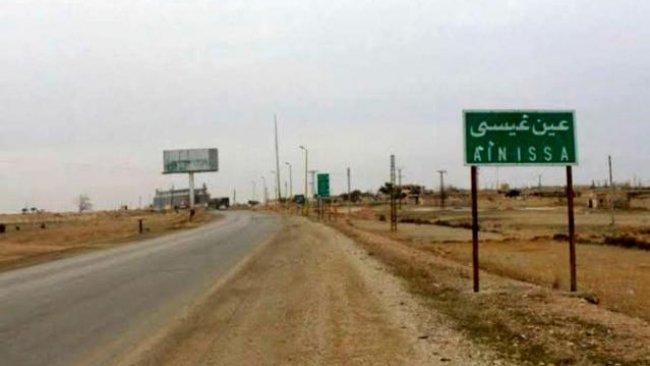 Rusya: TSK Ayn İsa'da 3 yerleşimi dönüşlere kapattı