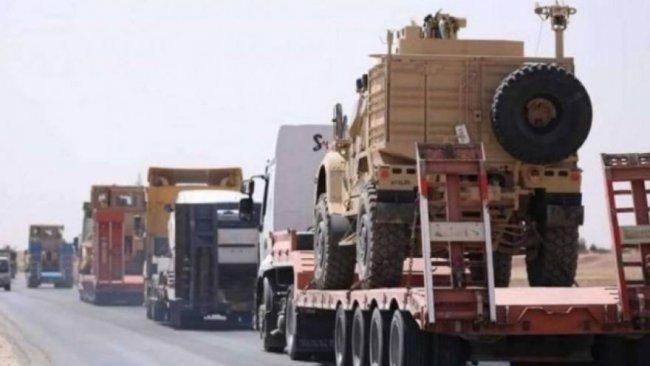 Uluslararası Koalisyon'dan DSG'ye yeni askeri konvoy