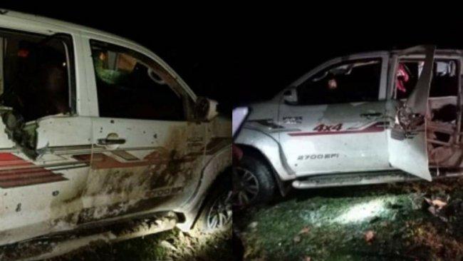 TSK,  Sidekan'da bir aracı vurdu
