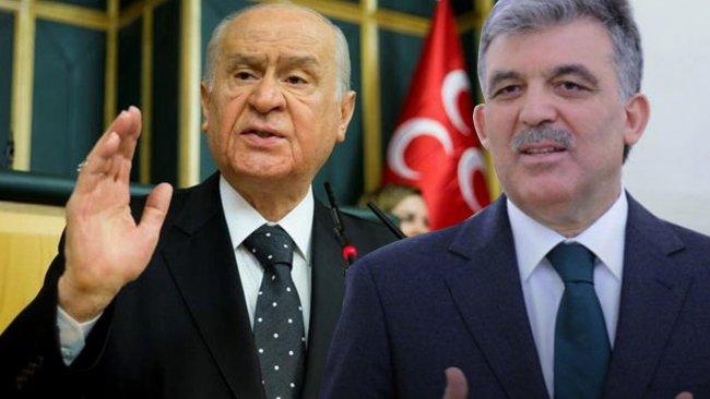 Abdullah Gül'den Devlet Bahçeli'ye 'Norşin' yanıtı