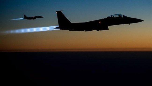 Uluslararası Kaolisyon'dan Qereçox Dağı'nda IŞİD'e bombardıman