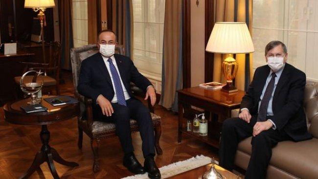 Çavuşoğlu, ABD Büyükelçisi ile görüştü