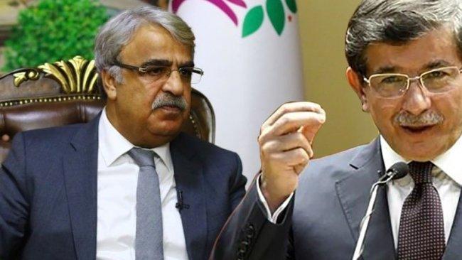 HDP Eş Genel Başkanı Sancar'dan Davutoğlu'na ziyaret