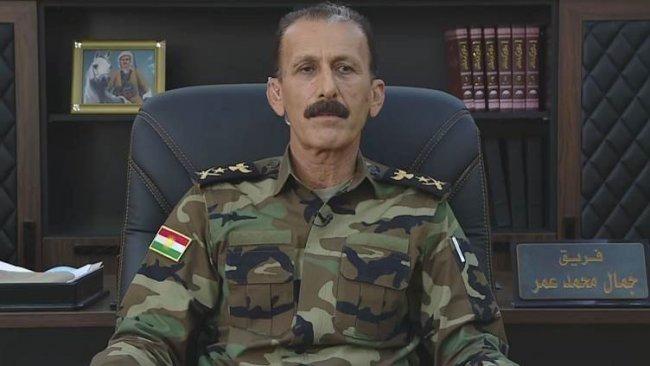 Peşmerge Genelkurmay Başkanı'ndan 'Kürdistani Bölgeler' açıklaması