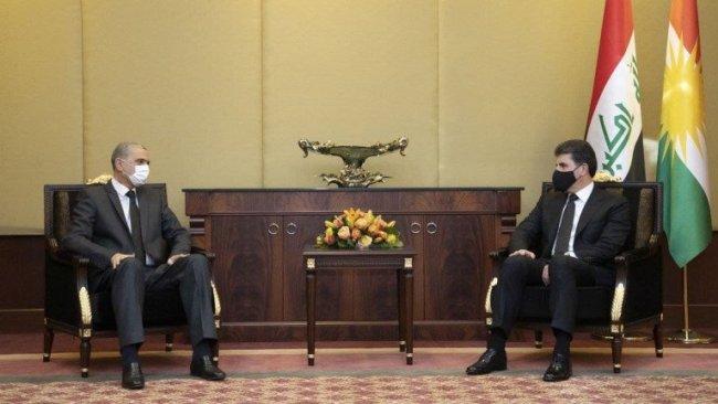 Neçirvan Barzani, Irak İçişleri Bakanı ile görüştü