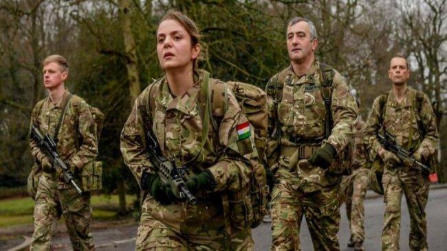 Kadın Peşmerge, İngiltere Sandhurst Kraliyet Askeri Akademisi'nden mezun oldu