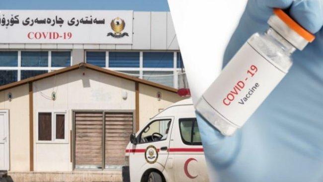 Kovid-19 aşıları Kürdistan Bölgesi'ne ulaştı