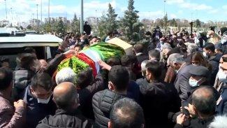 Prof. Dr Kadri Yıldırım için düzenlenen cenaze töreninde gerginlik