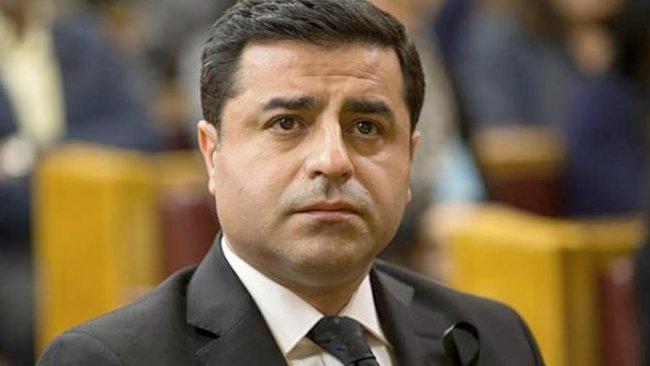 Selahattin Demirtaş'tan Prof. Dr. Kadri Yıldırım için taziye mesajı