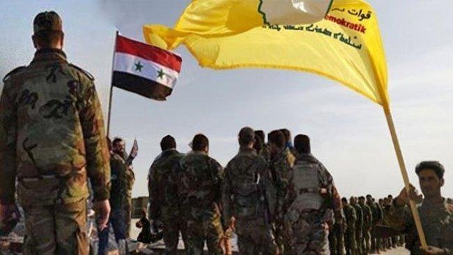 Suriye rejimi ile DSG arasında geçiş noktaları gerginliği