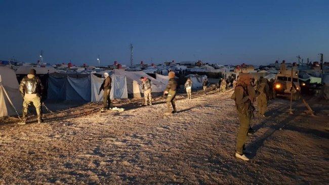 Rojava'da Hol Kampı'nda sürdürülen operasyonun 5. gününe ilişkin bilanço paylaşıldı