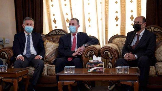 Türkiye Başkonsolosu'ndan Ezidi Kürtlerin lideri Mir Hazım Tahsin Beg'e ziyaret