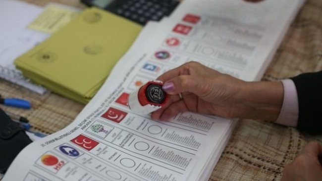 Avrasya Araştırma anketi: 'Bugün seçim olsa hangi partiye oy verirsiniz?'
