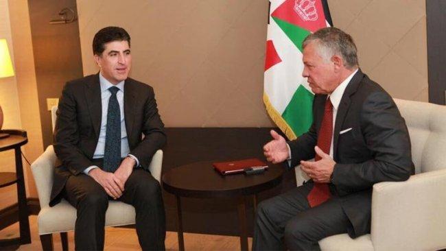 Başkan Neçirvan Barzani'den Ürdün Kralı'na destek mesajı