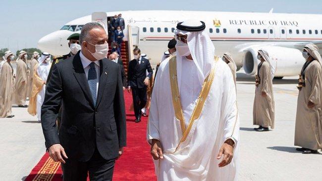 Irak Başbakanı Kazimi BAE'ye gitti