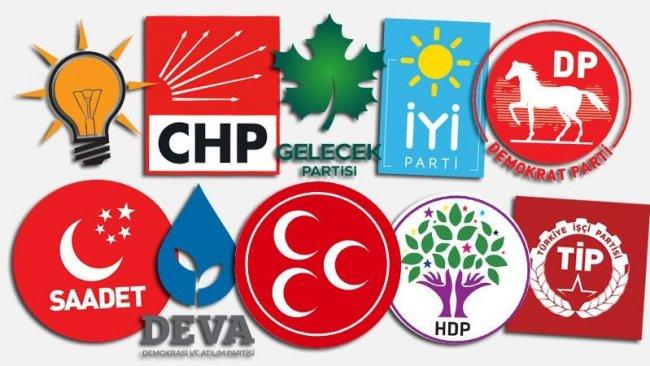 Son rakamlar açıklandı...Türkiye'de hangi siyasi partinin kaç üyesi var?