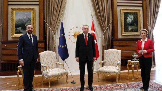 AB liderleri, Erdoğan ile bir araya geldi