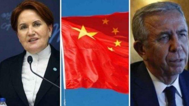 Çin Elçiliği'nden Akşener ve Yavaş'a sert yanıt
