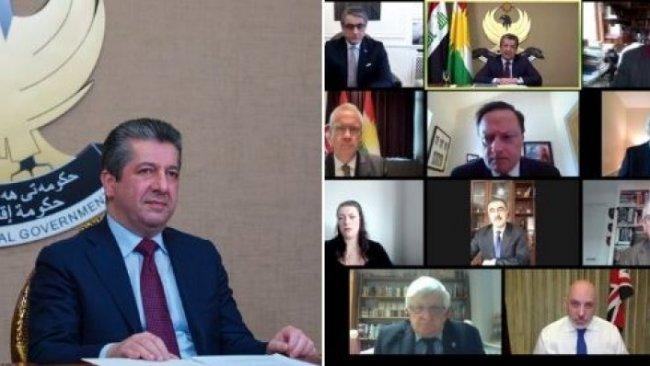 Başbakan Barzani'den uluslararası kamuoyuna 'Kürt davasına destek' çağrısı