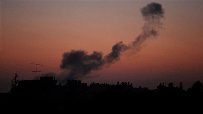 İsrail savaş uçakları Şam'daki askeri noktaları vurdu