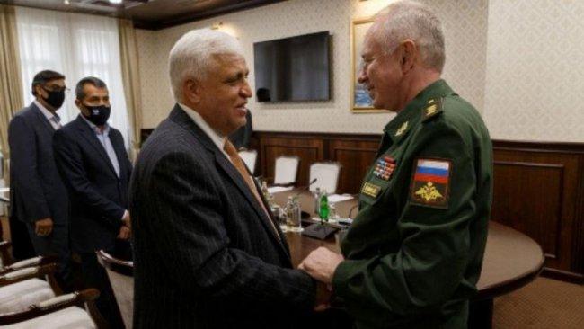 Haşdi Şabi Başkanı Rusya'da
