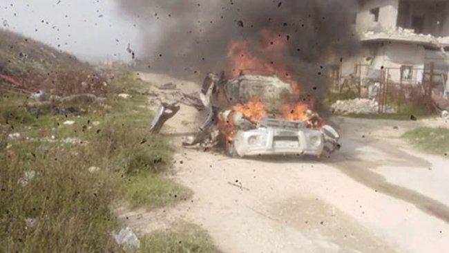 İdlib'de rejim güçlerinden füzeli saldırı: 7 ölü, 3 yaralı