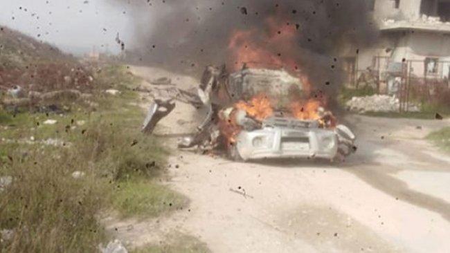 İdlib'te füzeyle saldırı: 7 ölü