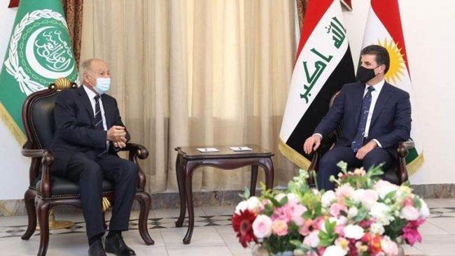 Arap Birliği liderinden Başkan Neçirvan Barzani'ye Kahire daveti
