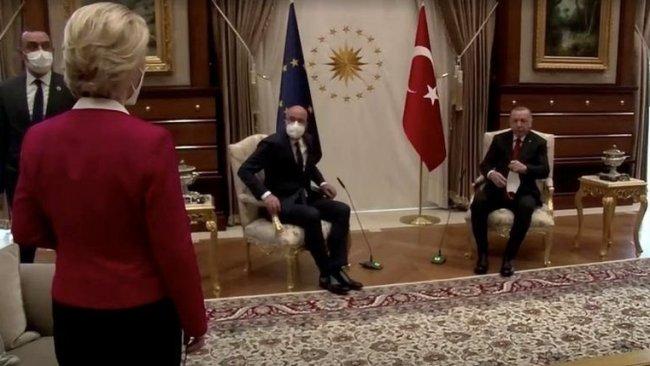 Financial Times: Avrupa ve Türkiye, 'Koltuk Skandalı'yla ilgili olarak birbirlerini suçluyor